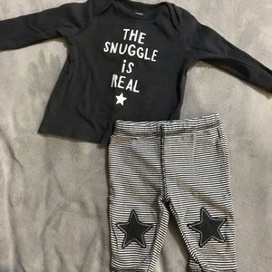"""3M """"The Snuggle is Real"""" Baby Boy Set"""